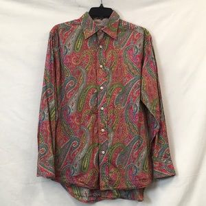 Robert Graham men's cotton shirt - size M